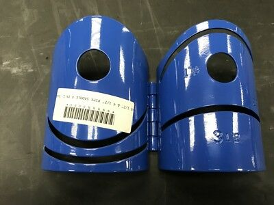 """Metal Cutting Guide 3 1//2/"""" Steel Heavy duty 4 IN 1 PIPE SADDLE"""