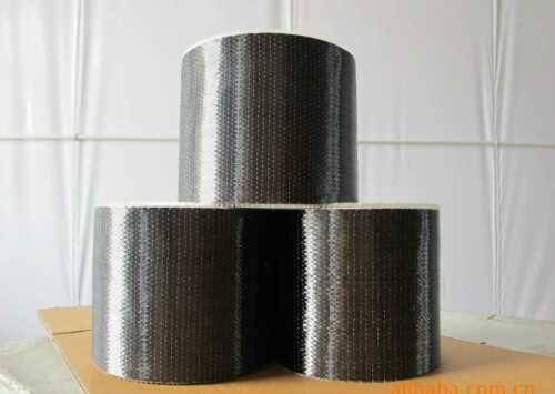 """12/"""" wide 12k Toray T700 Real Carbon Fiber Fabric Unidirectional Cloth Tap 300gsm"""
