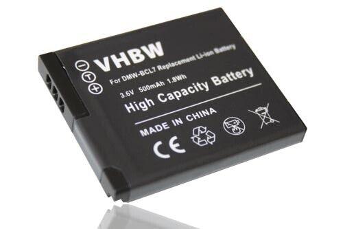 Cámara acu batería 500mah para Panasonic Lumix dmc-fs50
