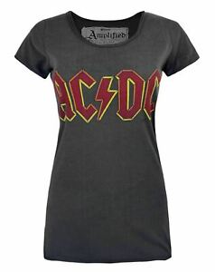 Amplified-AC-DC-Logo-Women-039-s-T-Shirt
