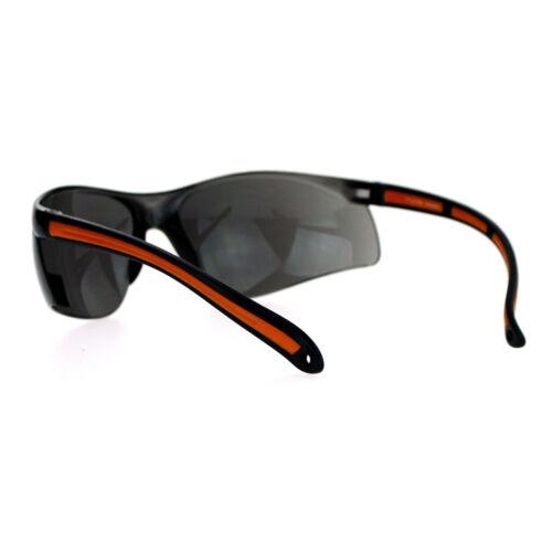 SA106 High Quality ANSI Z87.1 Protection Half Rim Sport Safety Glasses