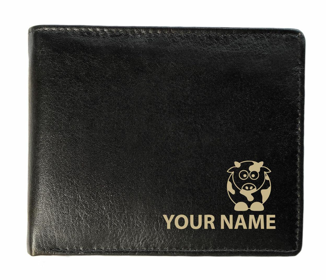 Personalised Wallet Cow