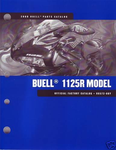 BUELL partscatalog 2008 1125R models 99572-08Y Buch OVP