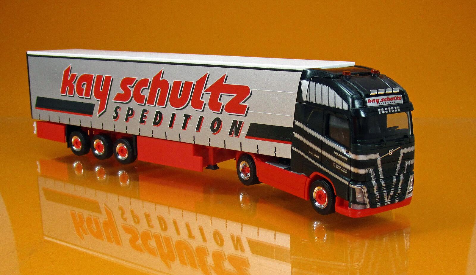 el mejor servicio post-venta Herpa 306980 306980 306980 Volvo FH 2013 Globetrojoter XL visillos programar camiones Kay schultz 1 87  los nuevos estilos calientes