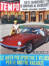 TEMPO n°16 1966  Fotografie inedite Linda Christian e Romina Power [C88]