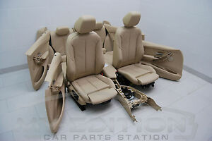 Bmw F30 El Sport Leather Trim Leather Seats Leather Memory Seat