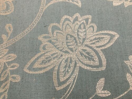 Glamour Surf  Floral  Weave 140cm wide Fibre Naturelle Curtain//Craft Fabric