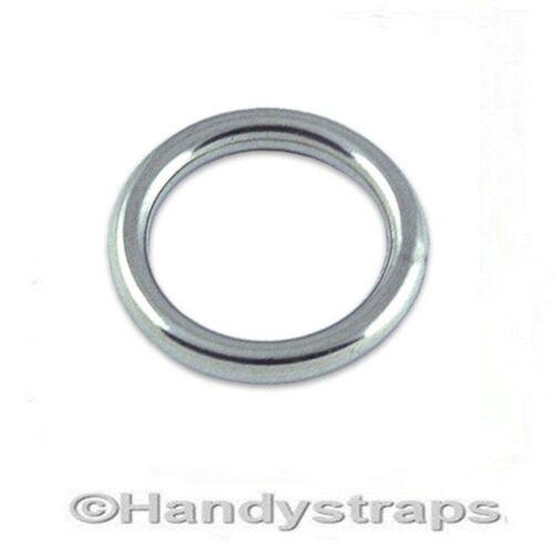 Mooring Rings Round Ring 10mm x 80mm Marine Grade Stainless Steel Marine Grade