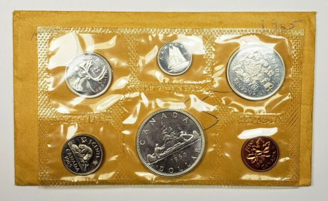 1965 Canada Proof Like Silver Uncirculated Mint Set