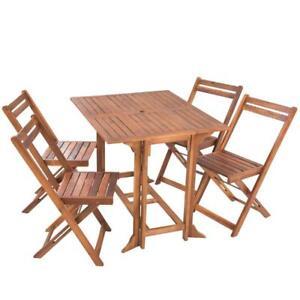 Gartenmöbel Holz Essgruppe Garten Sitzgruppe Holz Balkonmöbel Set