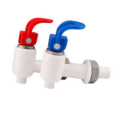 Universal Plastic Push Type Cold Hot Water Dispenser Tap Faucet Replacement Hot