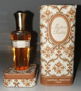 Antik Flakon Parfüm Madame Rochas Marcel Rochas IN Schmuckkästchen Anfang 1960