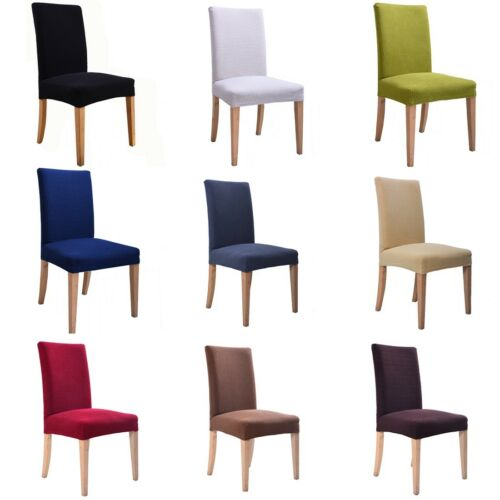 European Elastic Home Kitchen Stretch Dinning Chair Cover Protector Slipcover