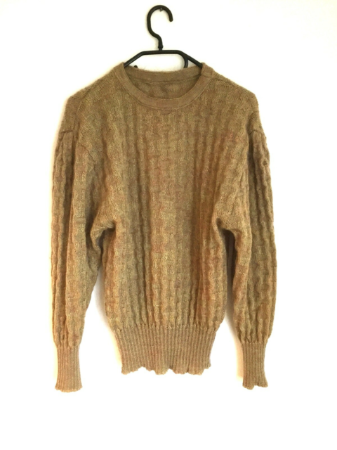 Sweater, One Vintage, str. 42, Uld, mohair, akryl, God men…