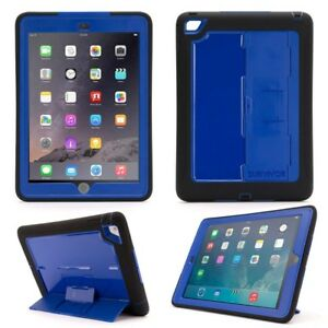 Griffin-Survivor-Slim-Funda-para-Aire-de-Apple-Ipad-2-Negro-Azul