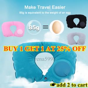 Inflatable-Blow-Up-Neck-Head-Rest-U-Shape-Pillow-Cushion-Support-Flight-Travel-A