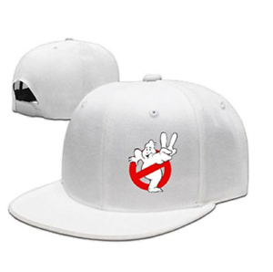 e5183bb20dd Image is loading Ghostbusters-2-Fashion-Cool-Flat-Along-Cap-Hats