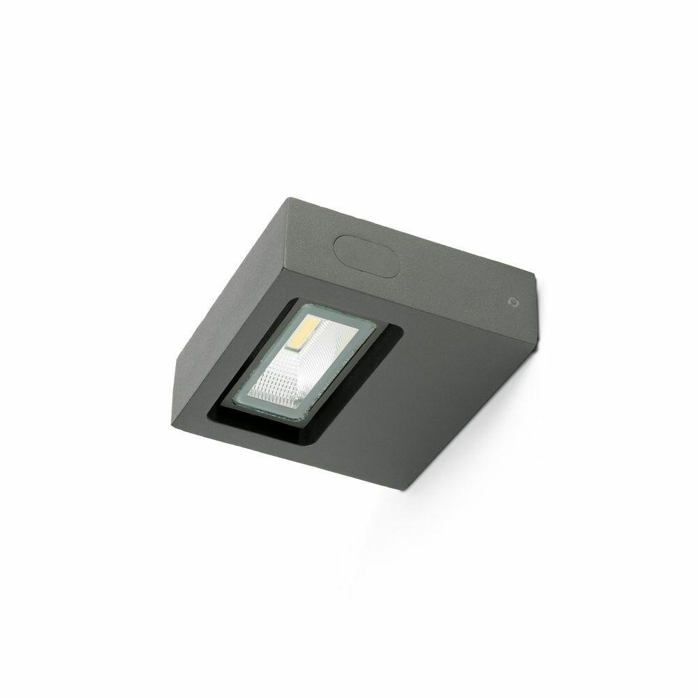 LED Applique Murale D'Extérieur Taima 3000K IP54 gris Foncé