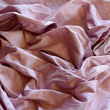 "Iridescent Dark Goldenrod Dupioni 100/% Silk Fabric 44/"" Wide By The Yard S-218"