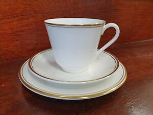 Vintage-Royal-Doulton-Gold-Concord-Trio-H5049-Cup-Saucer-and-Plate