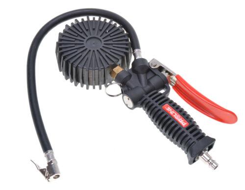Reifenfüller Reifen-Druckprüfer Reifenprüfer mit manometer 80mm Profi NEU