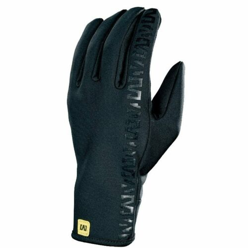 Mavic Spring Race Glove Bike Cycling Gloves Black//Black RRP £28.00