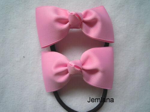 Jemlana/'s handmade school hair ties ..Set of 2 hair ties
