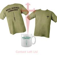 Royal Marines Commando Bundle Double Sided Tshirt & Mug Unisex All Sizes