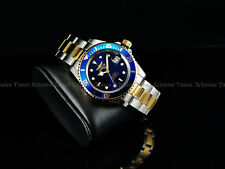 Invicta Men Original PRO DIVER SUBMARINER Coin Bezel Automatic 2Tone SS Watch