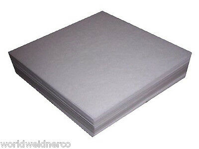 "100 Sheets 1.8oz. Tear Away Embroidery Stabilizer Backing 8x8"" Fits 4x4 Hoops"