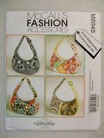 Purse Bags Sewing Pattern Mccalls M6045 See Full Listing Info