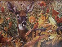Jigsaw Puzzle Animal Wild Deer Doe Autumn Lady 1000 Pieces