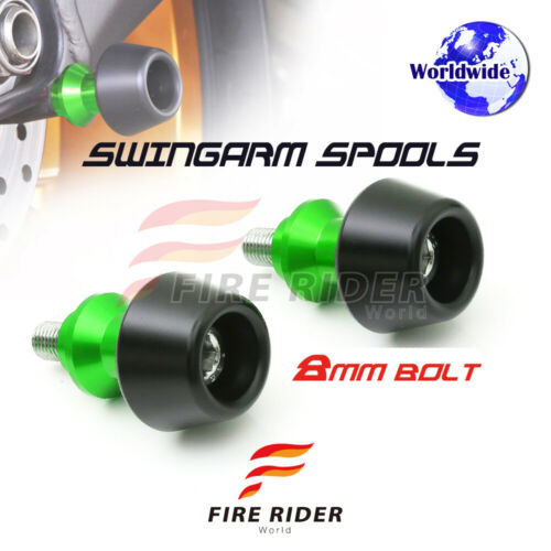 8MM CNC 6Color Swingarm Spools Pair For Kawasaki Z1000 14-16 14 15 16
