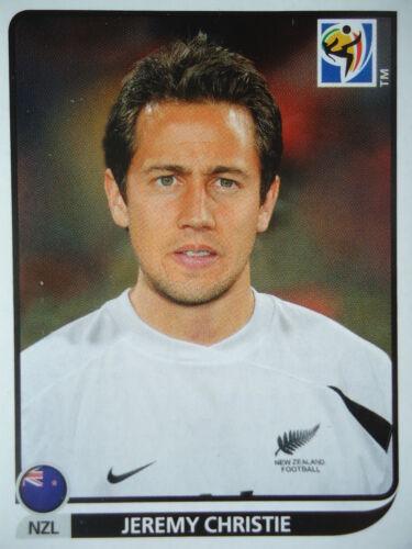 Panini 460 Jeremy Christie Neuseeland FIFA WM 2010 Südafrika