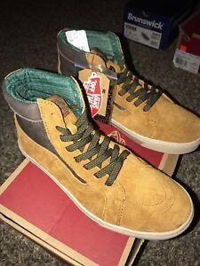 fcd66a4a63 Vans Sk8 Hi MTE Cup Cathay Hummus Men s Classic Skate Shoes Size 8 ...