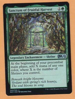 6x Different Sanctum Shrine Legendary Enchantments M21 Lot Set *NM* Magic MTG