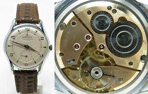 Orologio Lanco 352 caliber 1305 mechanic watch 60's clock vintage montre reloy