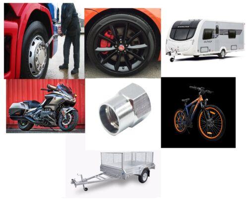 Chrome Metal Alloy Wheel Dust Valve Caps Ford Kuga I 2008-2018