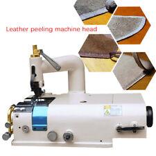 Leather Skiving Machine Thinning Shovel Cutter Peeling Skiver 1200rpm Best Sell