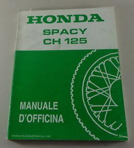 Manuale-di-officina-Honda-Spacy-CH125-von-1992