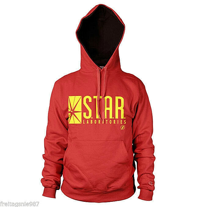 Flash ` Tv Show ´ Star Laboratories A Capuche Sweat - Shirt à Coton