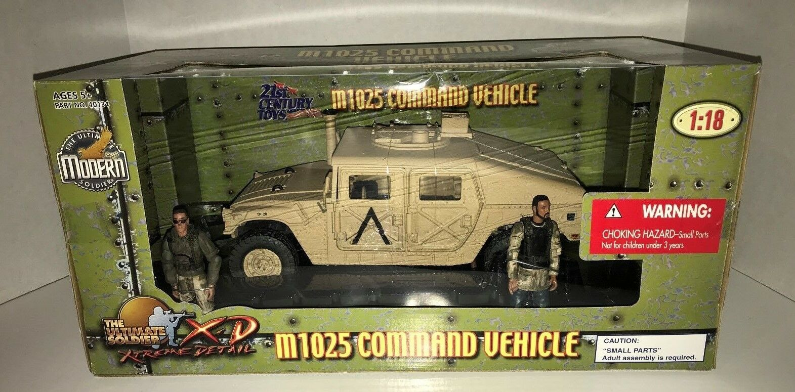 Ultimate Modern Soldier US M1025 Command Vehicle by 21st 21st 21st Century Toys 1 18 Scale 2b72a5