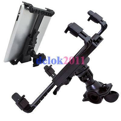 Adjustable Music/Microphone Stand Mount Holder For iPad 1/2/3 Tablet PC