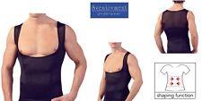 Svenjoyment Mieder Bauch-weg Top Shirt Hemd tiefer Schnitt GAY SEXY NEU in L