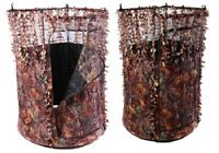 Predator 1 Pigeon Shooting Hide Camo Leaf Edge Pop Up Hide Decoying Decoys