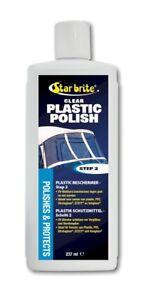 Star brite Plastik Wiederhersteller Step 2, Klarsicht-Kunststoff-Politur  237ml
