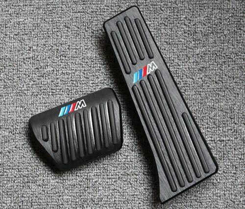Black No drill Fuel Brake Pedal Cover M For BMW 1 2 3 4 Series F20 F22 F30 G01