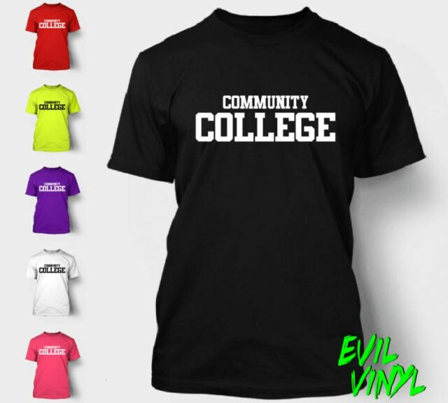 Funny Community College Tshirt Shirt Animal House Beer Graduation Gift Tee NEON