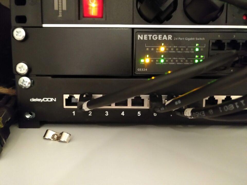 Switch, Netgear GS324, Perfekt
