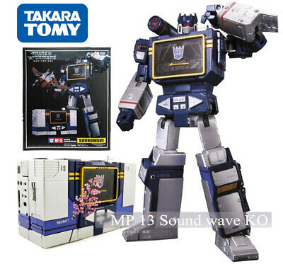 Transformers Soundwave Takara MP-13 MP15 MP16 KO With Laserbeak Action Figure